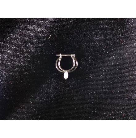 Septum Vit swarovski kristall 1.6mm