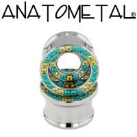 3/4TDG with inner orbit 19.1mm Eyelet dubbel gem TI