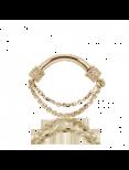 Septumsmycke i guld med kedja (1,6 mm)