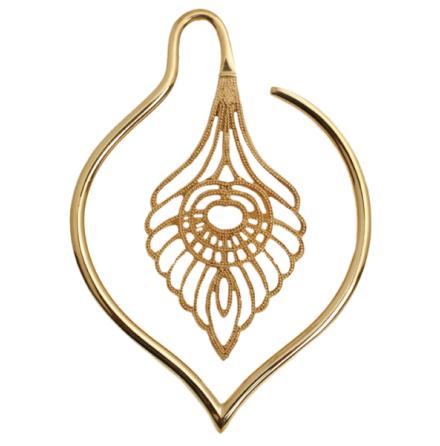Guld platerade mässings smycken, väger 41 gram st, passar från 4mm