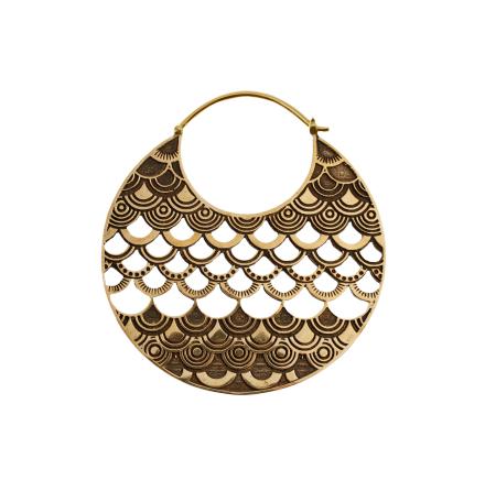 Mässing smycken, vikt 22 gram st, passar från 1.6mm