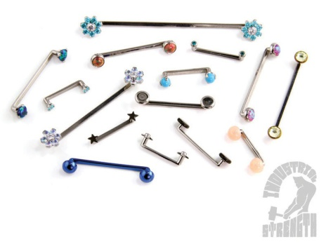 Stavar till surface piercingar i 1.6mm