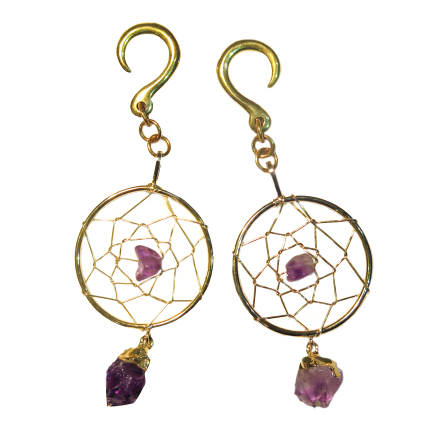 Dream Catchers with amethyst