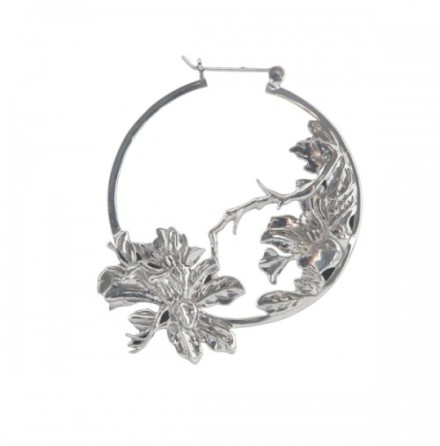Flower Hoop Metal