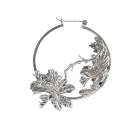 Flower Hoop Metal
