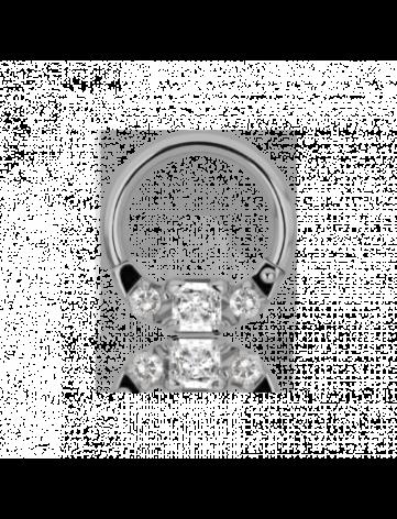 Clickers med kubisk zirkonia