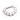 Titanium Prong-set 8 Faceted gems Septum Clicker 1.6x.6.3mm - Vit