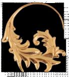 Nabulla 18k Rose guldplaterad, passar från 1mm