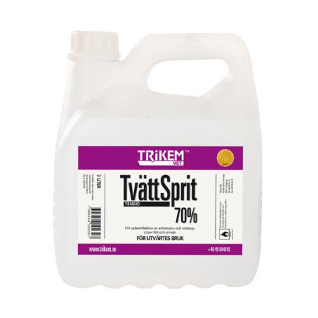 Tvättsprit 70% 3 liter /dunk