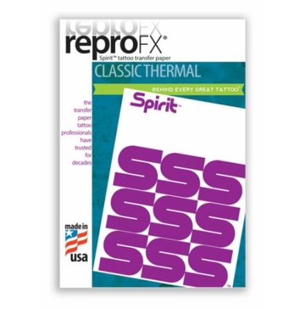 Spirit Reprofax Thermal Paper 8´x14´(21,6cm x 35,6cm) 100pcs