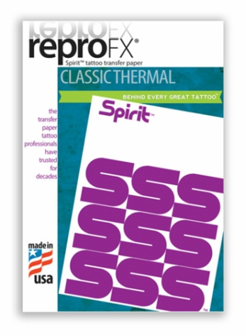 Spirit Reprofax Thermal Paper 8´x14´(21,6cm x 35,6cm) 100pcs