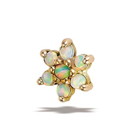Threadless smycken i 14k guld