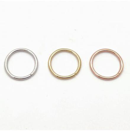 18k Gold seam ring (Continuous ring)