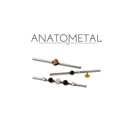 Stav i Titan 1,6mm, med 1 gängade hål för 1.2mm (16g) toppar