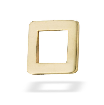 Open Square, 5 mm, Rose gold