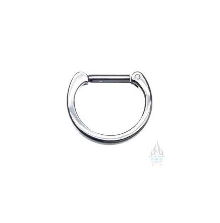 Titanium Septum Clicker # 21 smooth