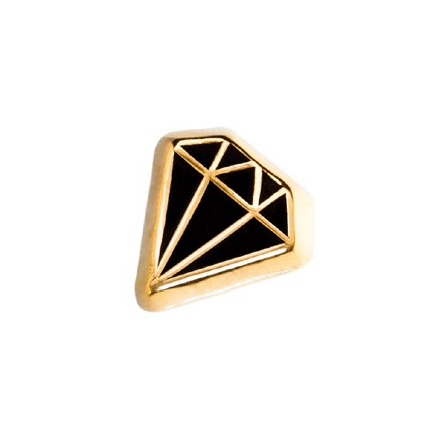 14k Diamond, Threadless