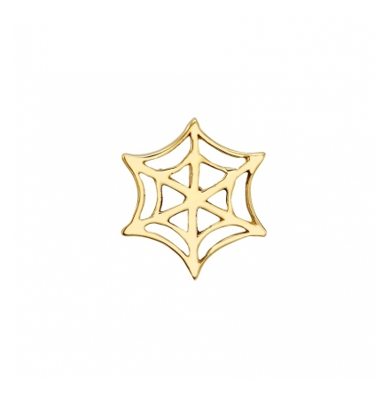 Spider web in yellow gold 1.6 mm