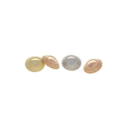 18k Yellow gold 5MM Hera ends, will fitt push pin