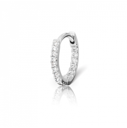 8mm Diamond Front-Facing Eternity Ring