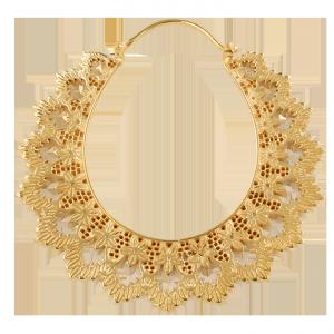 Guld platerade häng smycken, 29 gram st, passar från 2 mm