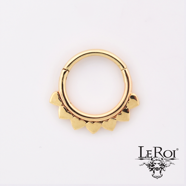 14k Jiya Hinged ring