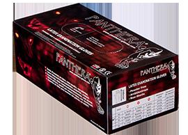 """""""Panthera""""-undersökningshandskar i latex"""